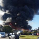 Catastrophic fire at the Cargo2000 headquarters.